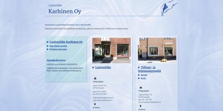Lasitusliike Karhinen Oy