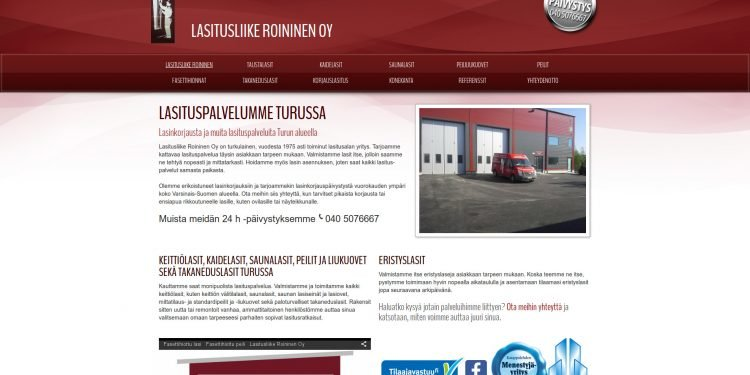 Lasitusliike Roininen Oy