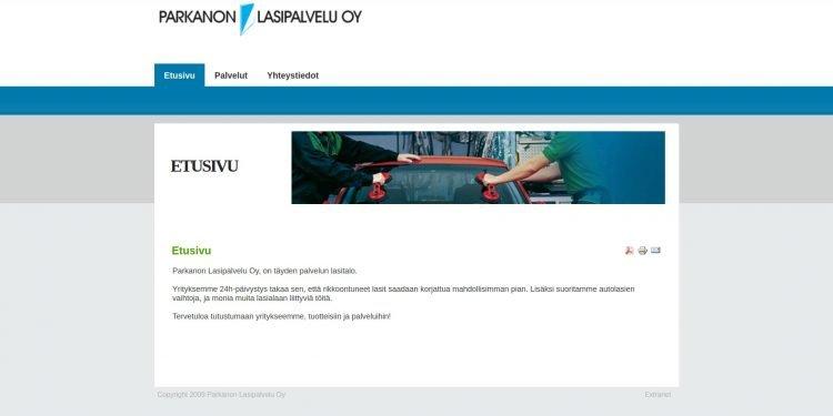 Parkanon Lasipalvelu Oy